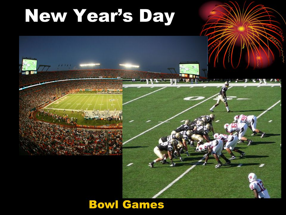 New Year's Day Bowl Games