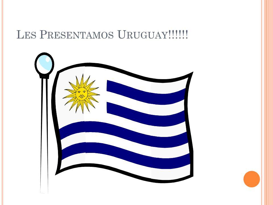 M ONEDA The Uruguayan peso ($U) is equal to 100 centesimo or $1 US dollar.