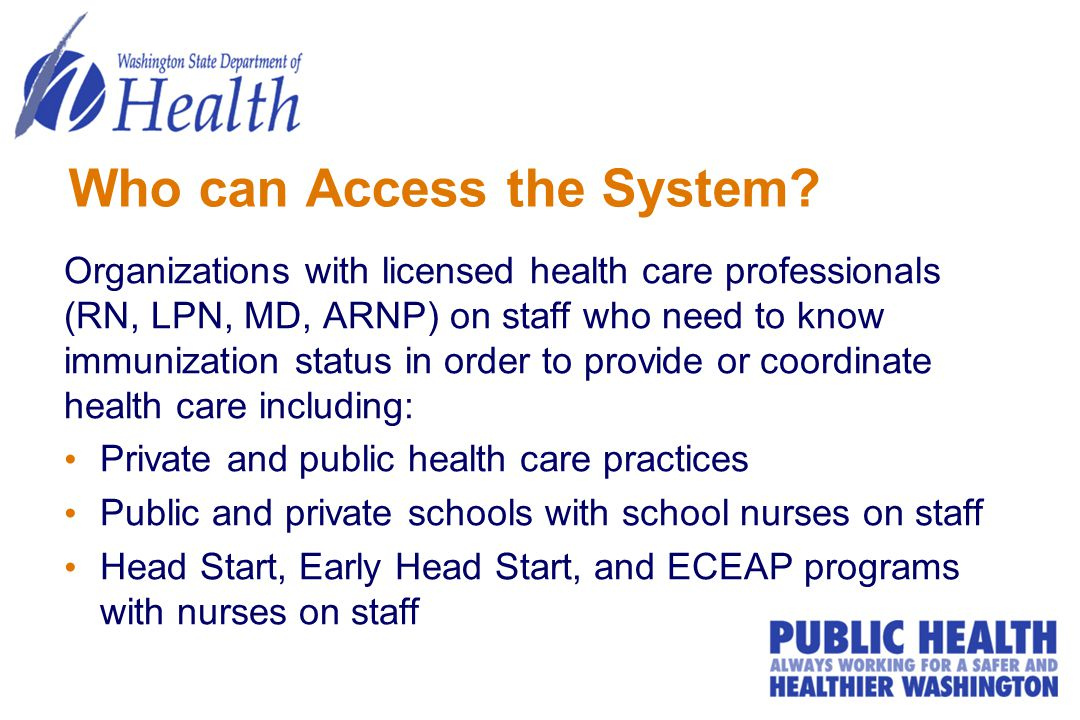 Who can Access the System.