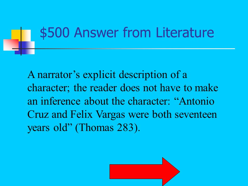 $400 Question from Literature What is onomatopoeia
