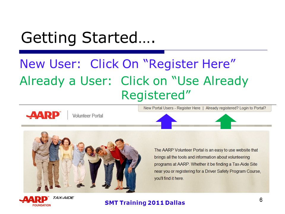 6 SMT Training 2011 Dallas Getting Started….