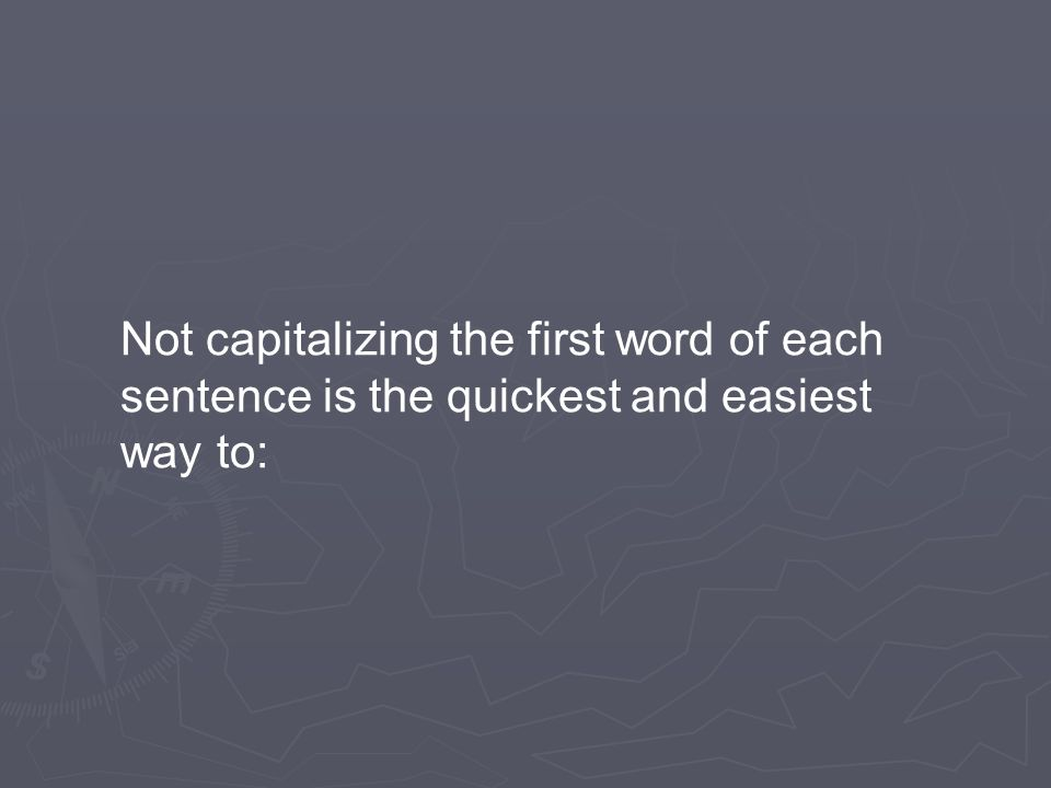 Are these groups of words sentences?