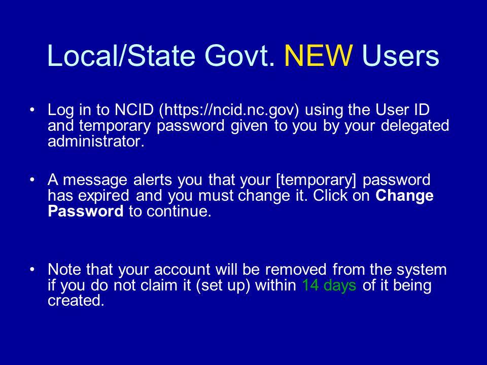 Local/State Govt.