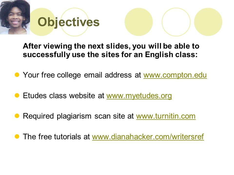 Class Website Continued The next screen has a mini-lecture on PowerPoint slides.
