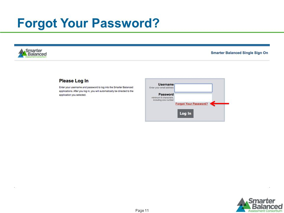 Forgot Your Password Page 11