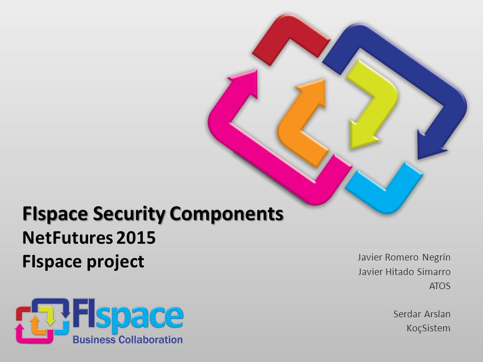 FIspace Project FIspace Security Components