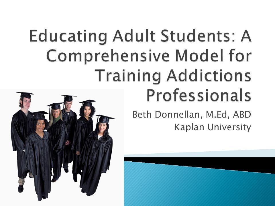 Beth Donnellan, M.Ed, ABD Kaplan University