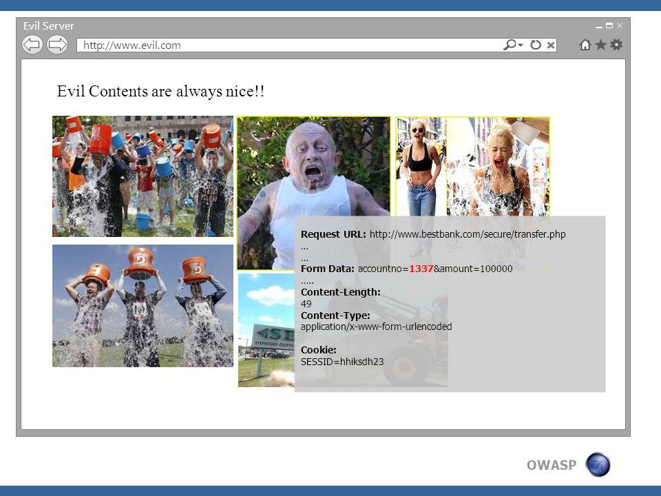 OWASP Nice Server http://www.bestbank.com/summary/ Welcome Admin BestBank Transactions Sl NoAccount NoAmountDateBalance 110002INR 10000010.09.14INR 1500000 21337INR 10000011.09.14INR 1400000