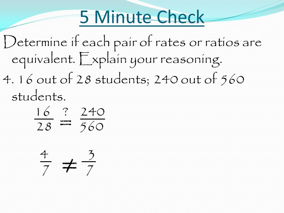 Rate and Ratio Problems Agenda Notes Homework – Lesson 6.1.7 Homework Practice Due Wednesday, Sept 3 Circle all final answers.