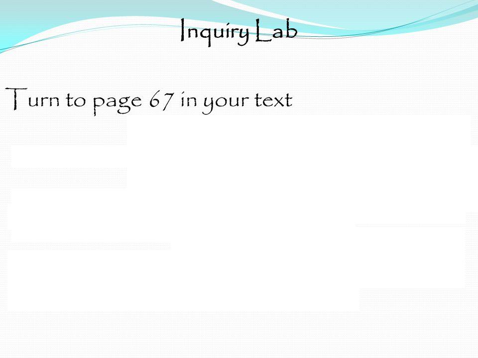 Inquiry Lab