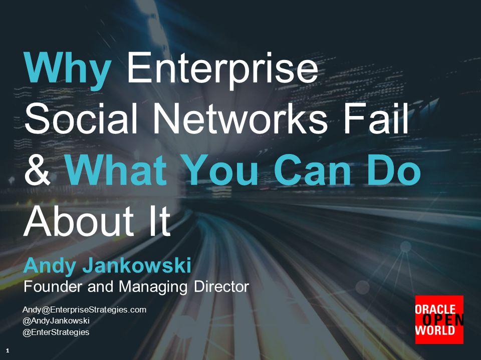 @AndyJankowski @EnterStrategies 2 1st Oracle Social Network Strategy Partner 's