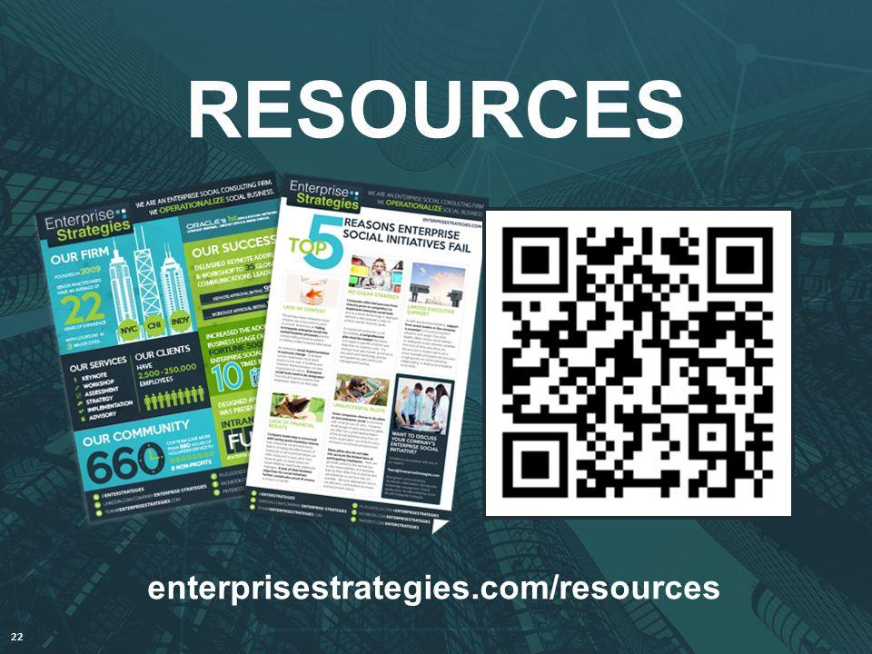 @AndyJankowski @EnterStrategies 22 RESOURCES enterprisestrategies.com/resources