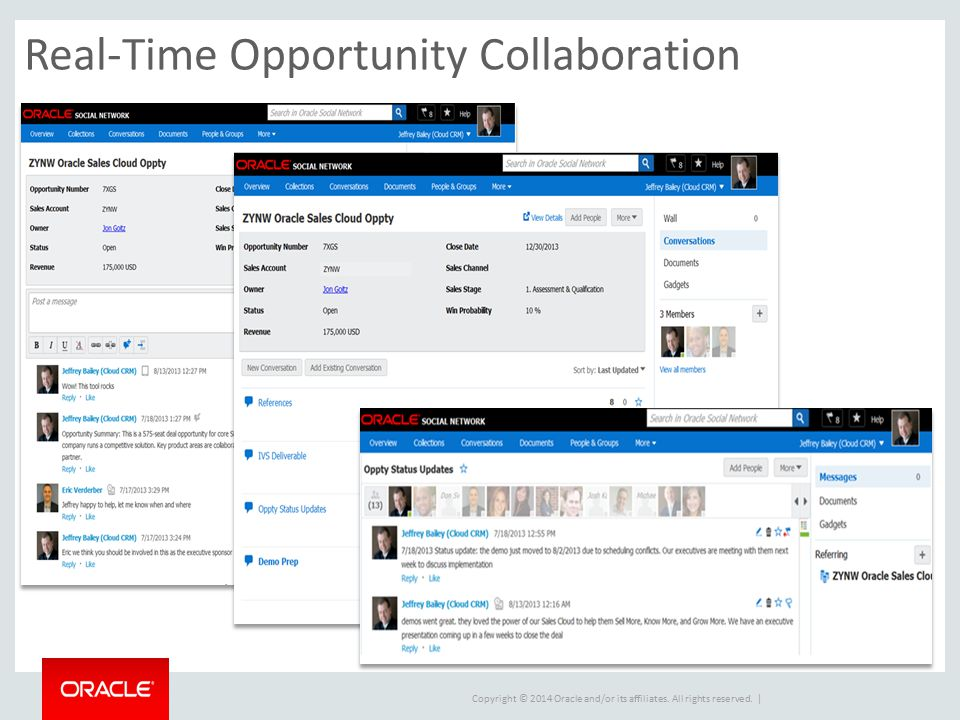 Real-Time Opportunity Collaboration