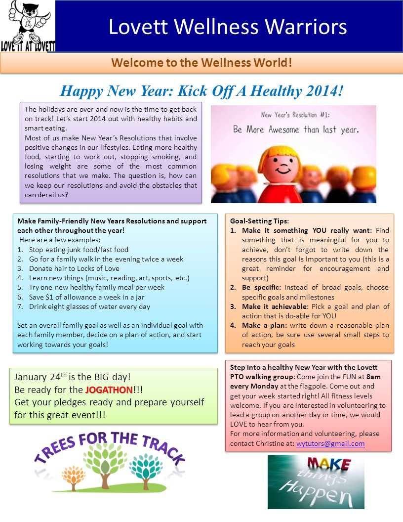 Happy New Year: Kick Off A Healthy 2014.