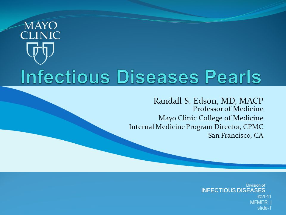 Division of INFECTIOUS DISEASES Randall S.