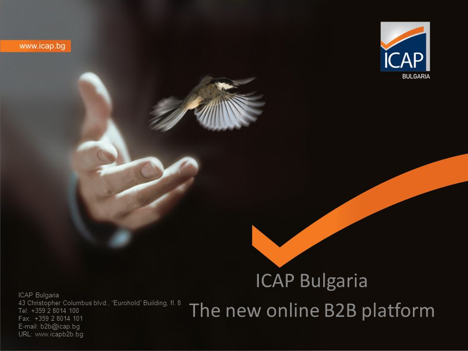 ICAP Bulgaria 43 Christopher Columbus blvd., Eurohold Building, fl.