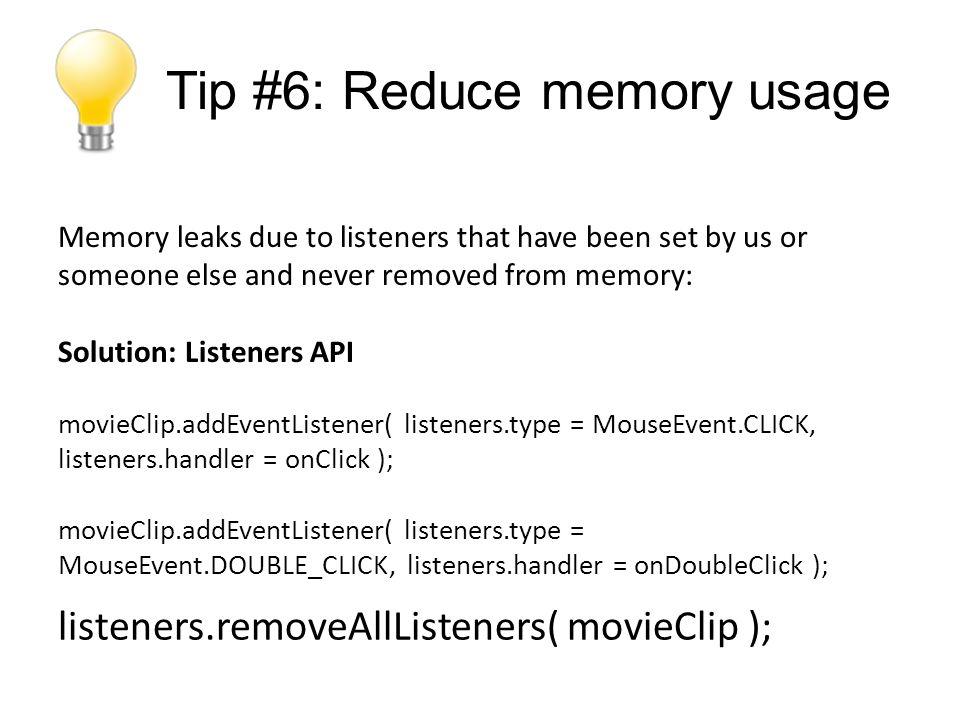 Tip #17: Splitting apps into modules