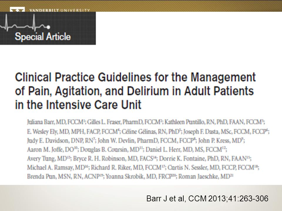 Barr J et al, CCM 2013;41:263-306