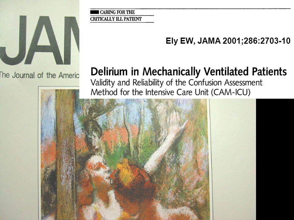 Ely EW, JAMA 2001;286:2703-10