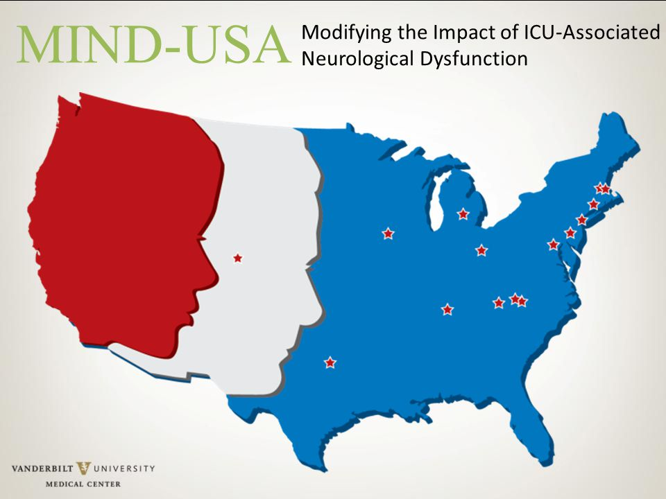 Modifying the Impact of ICU-Associated Neurological Dysfunction MIND-USA