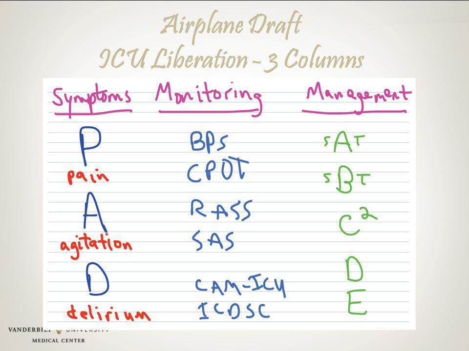 Airplane Draft ICU Liberation - 3 Columns