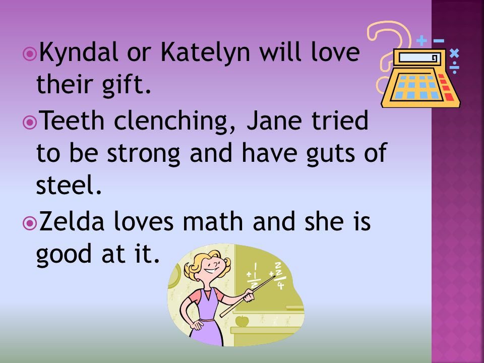  Kyndal or Katelyn will love their gift.