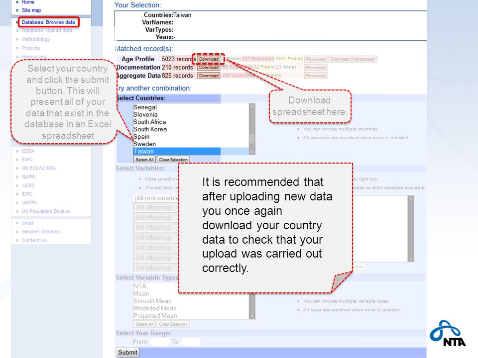 ` ` Select your country and click the submit button.