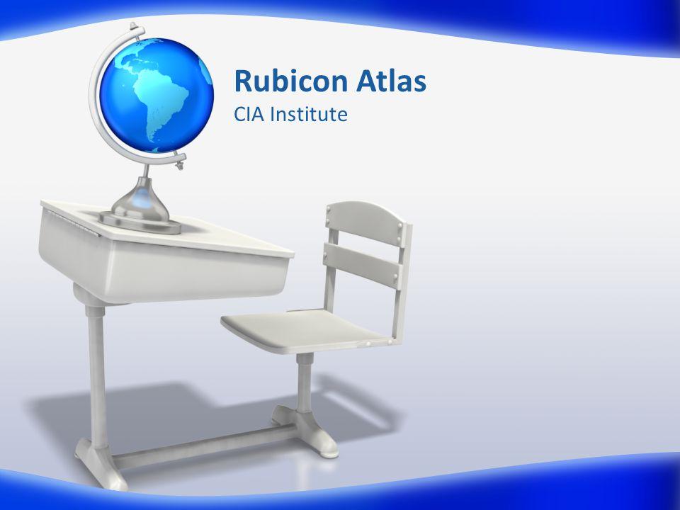 Rubicon Atlas CIA Institute