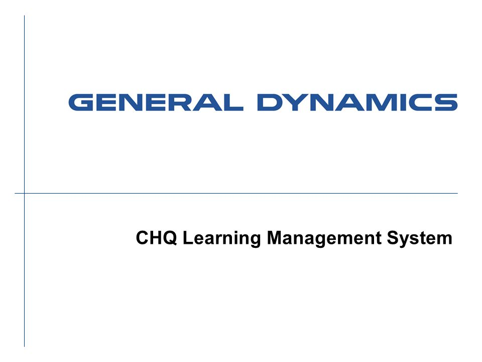 CHQ Learning Management System