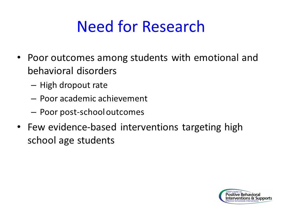 Cross-Disciplinary Focus Special Education Mental /Behavioral Health