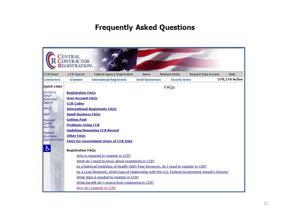 10 Frequently Asked Questions