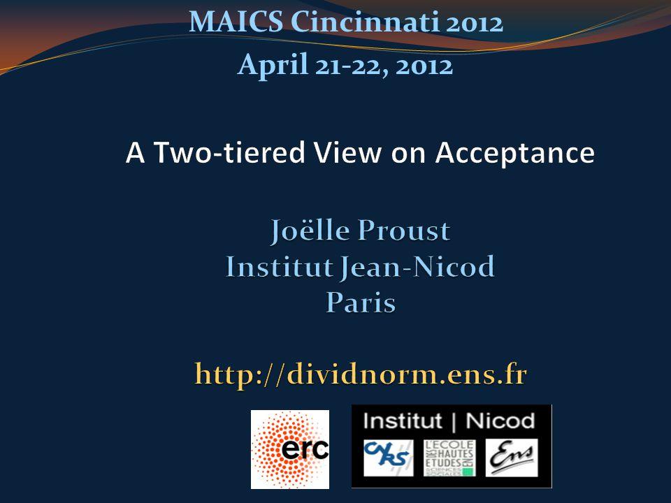 MAICS Cincinnati 2012 April 21-22, 2012