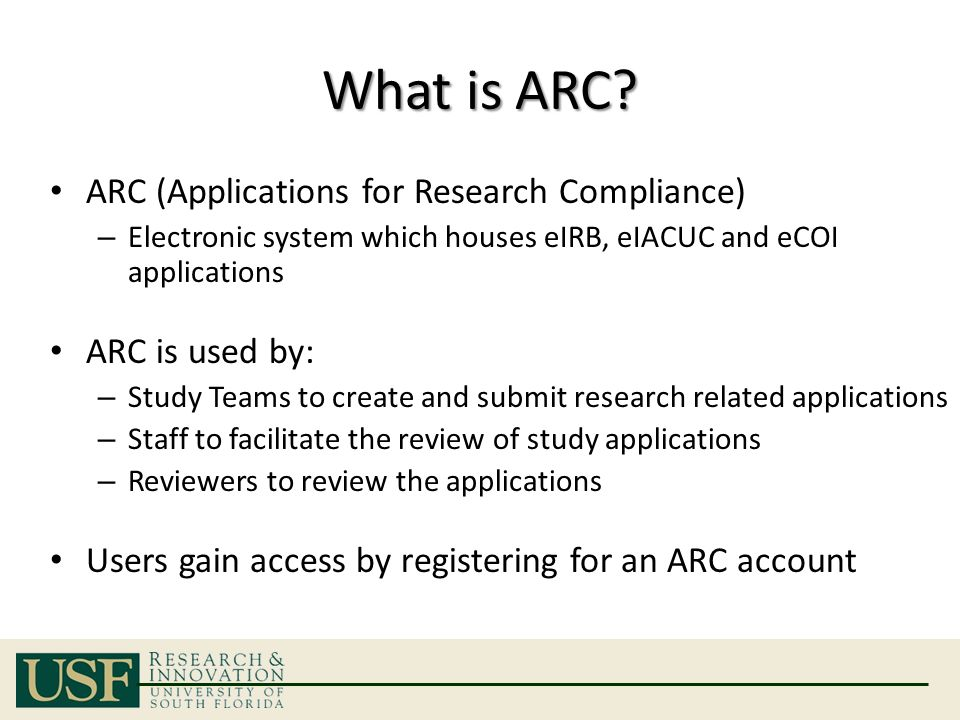 What is ARC.