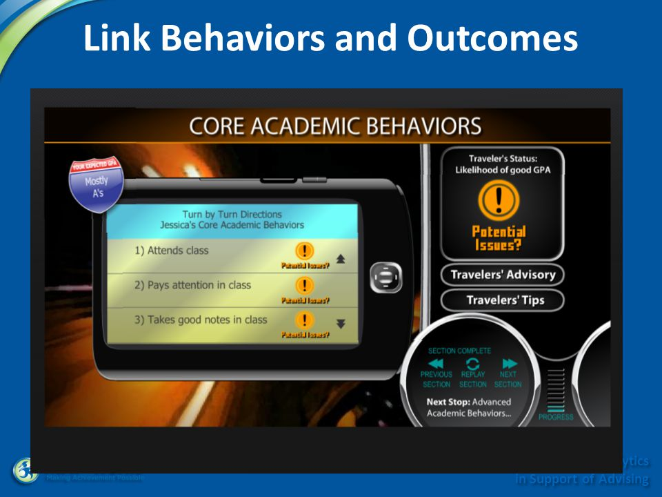 Minnesota Symposium on Analytics in Support of Advising Link Behaviors and Outcomes