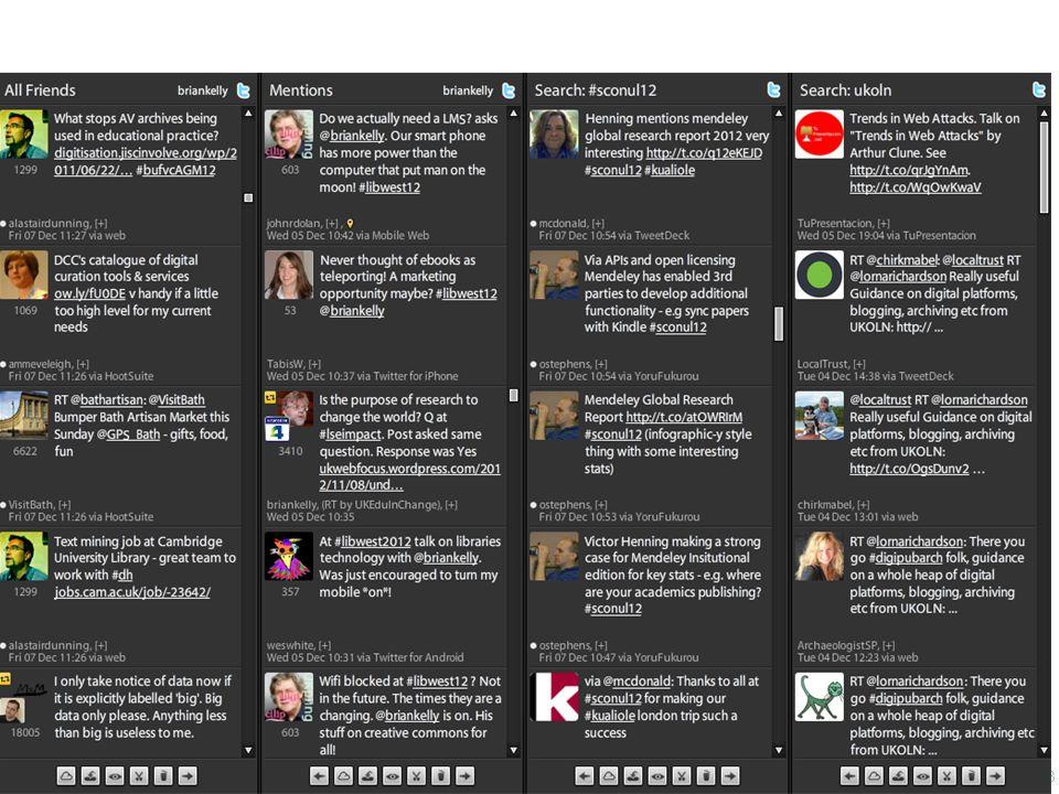 #boltonunirandi14 Twitter You can't ignore Twitter! 53