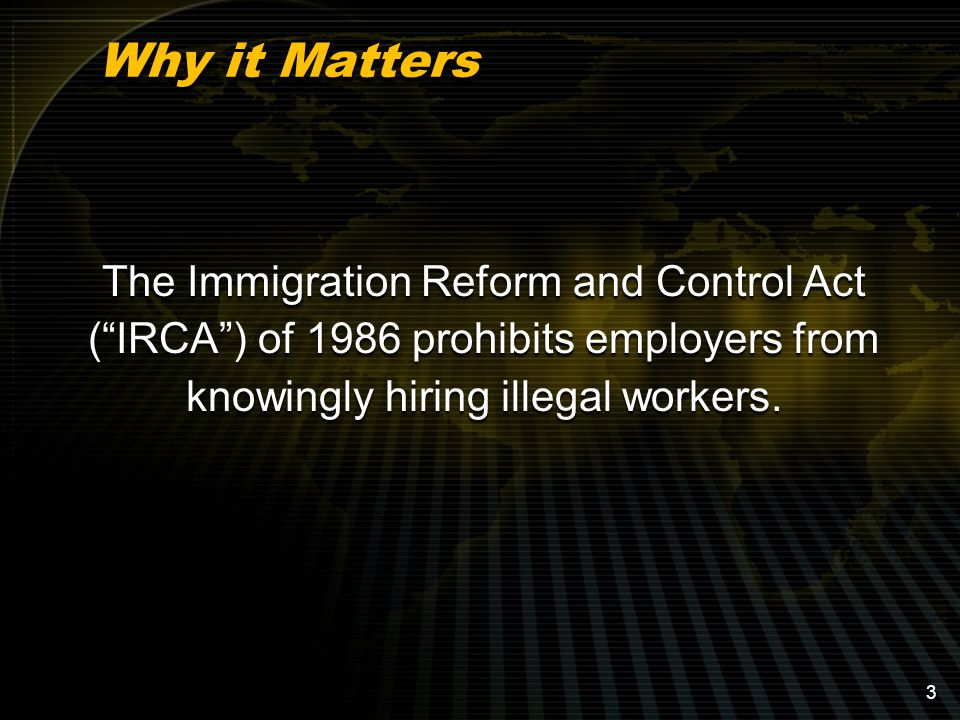 Considerations in Conducting an Audit –Who: According to the Immigration and Customs Enforcement ( ICE ), audits should be conducted either by an external auditor or a trained employee who is not otherwise involved in the Form I-9 process.