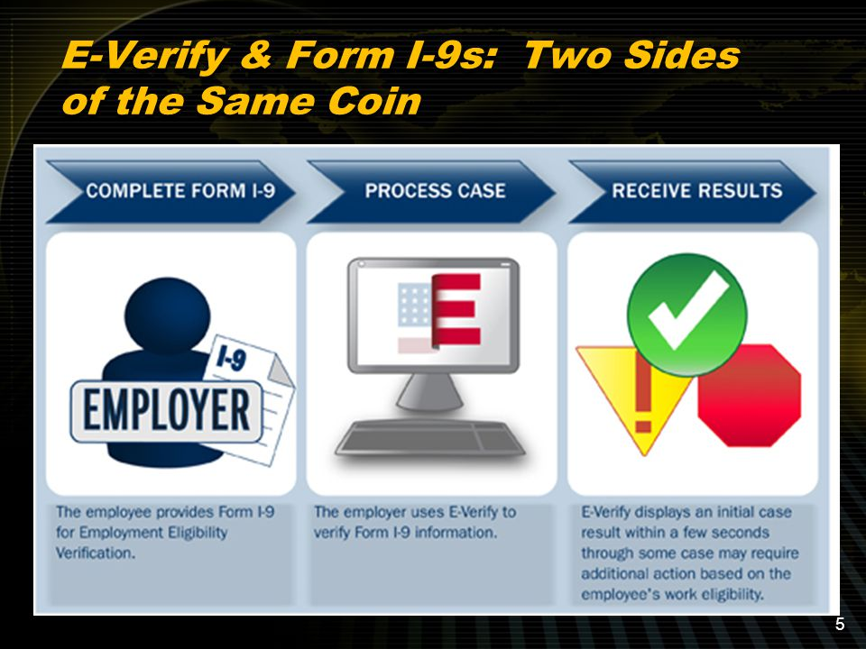 Options when E-Verify Process is Performed: Employment Authorized SSA Tentative Non-Confirmation DHS Verification in Process (Typical: 24 hour response stating employment is authorized or giving a tentative non-confirmation) Options when E-Verify Process is Performed: Employment Authorized SSA Tentative Non-Confirmation DHS Verification in Process (Typical: 24 hour response stating employment is authorized or giving a tentative non-confirmation) 36 E-Verify: Generally