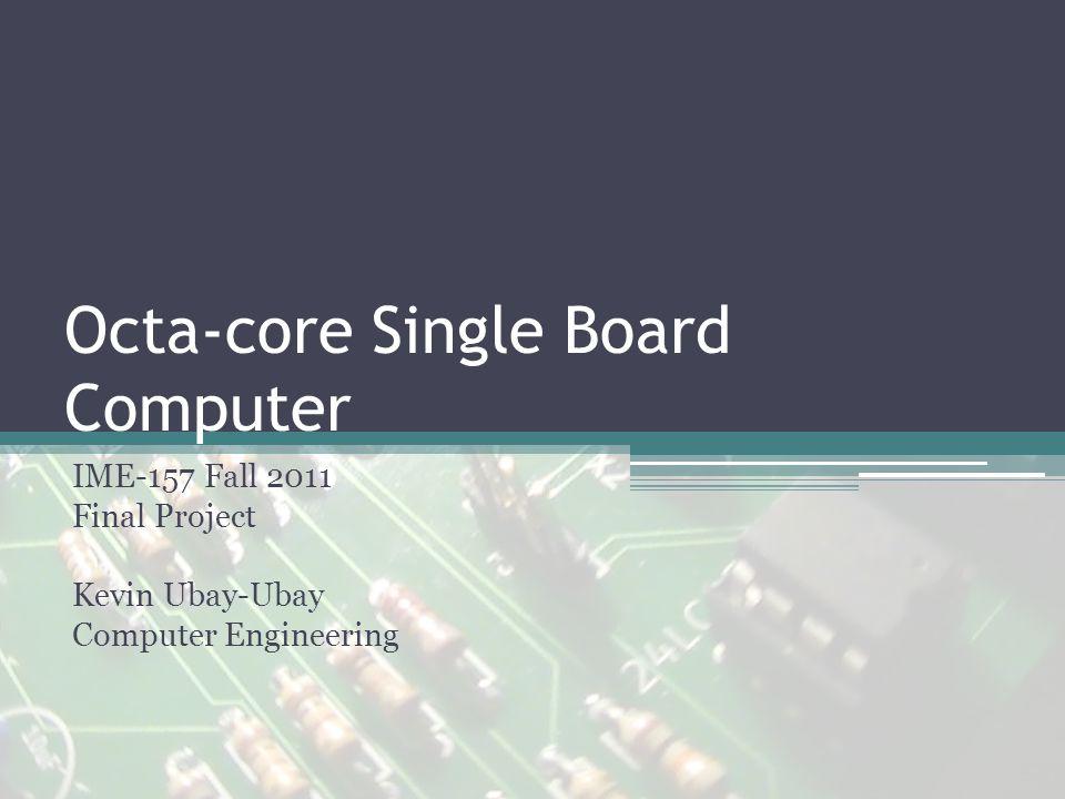 Design Microprocessor: Parallax Propeller P8X32A ▫Runs at 80MHz ▫Eight 32-bit cores ▫32KB RAM External memory: 32KB EEPROM Microchip ENC28J60 Ethernet controller I/O Ports: ▫2 PS/2, VGA, RJ45 jack, 4 pin ISP header Onboard sigma-delta ADCs 10 pin expansion port (5x2 pin header)