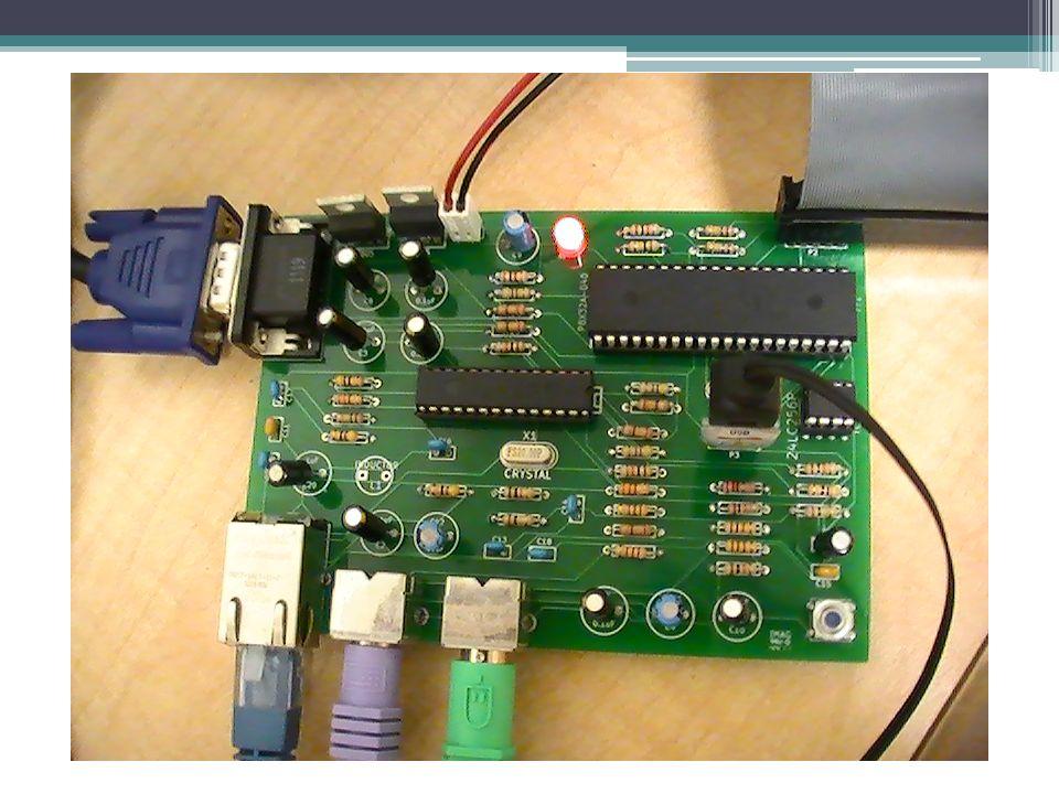 Spectrum Analyzer (Demonstration) Discrete Fast Hartley Transform ▫Employs split 2 radix decimation in time algorithm (DIT) for fast computation Audio data is digitized (Python script) ▫Downsampled to 14KHz providing spectral frequency range 0Hz to 7KHz ▫Data sent through serial port http://www.youtube.com/watch?v=w9wYNL66 UyUhttp://www.youtube.com/watch?v=w9wYNL66 UyU