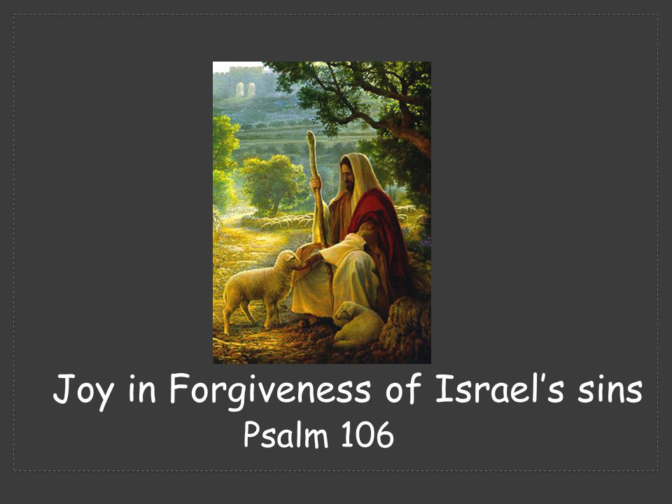 (Psalm 106:34-35) 34 They did not destroy the peoples, concerning whom the Lord had commanded them, 35 but they mingled with the Gentiles and learned their works. Description of the problem