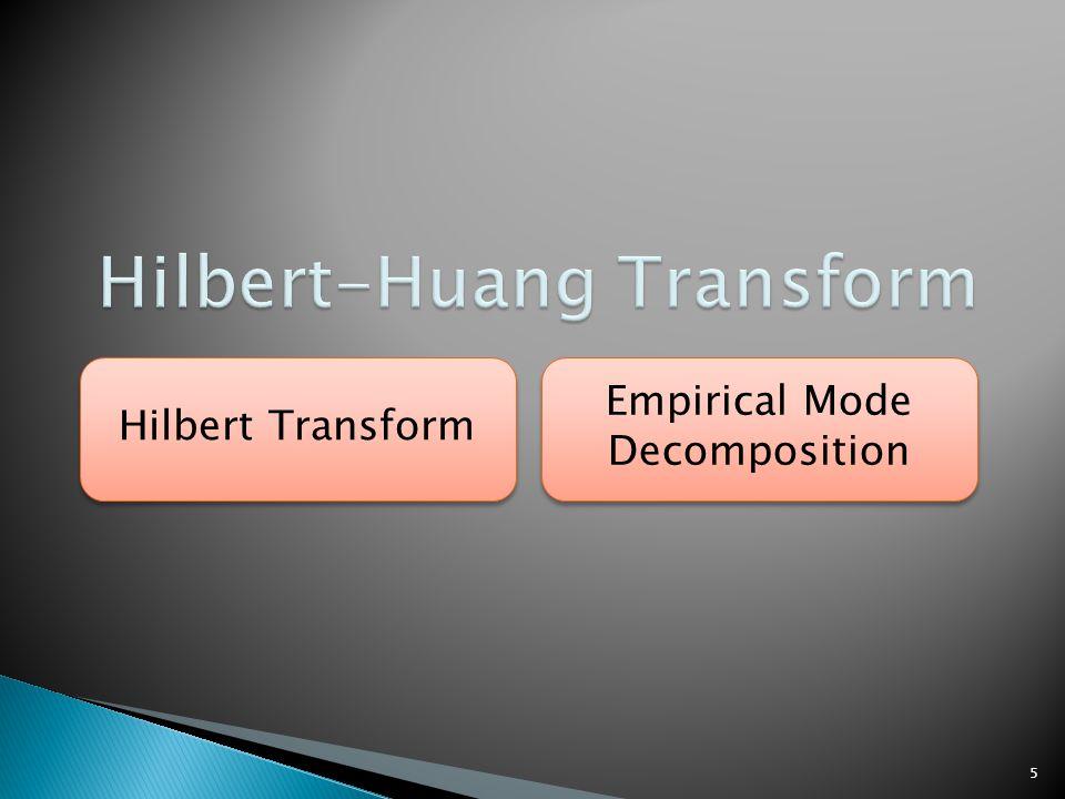 5 Hilbert Transform Empirical Mode Decomposition