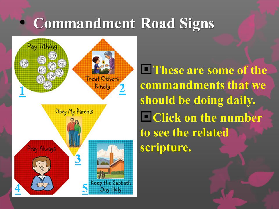 Keep the Commandments Keep the commandments; keep the commandments! In this there is safety; in this there is peace. He will send blessings; He will s
