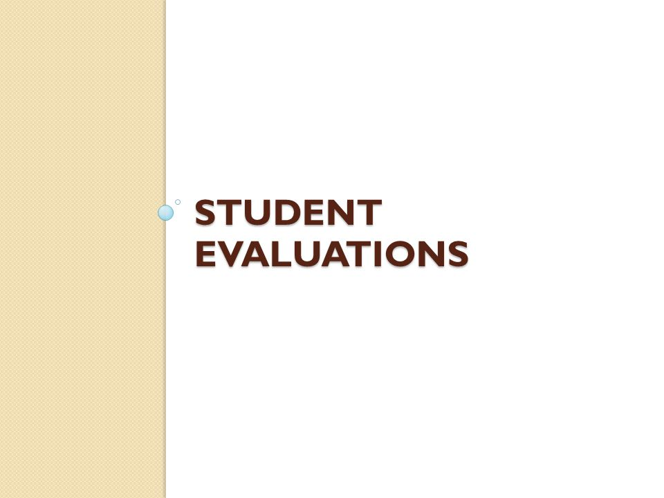 Use the data on your student evaluations and from your observations Teachers can look to the information on page three of IDEA reports to see what steps they might take to improve student progress on various objectives.