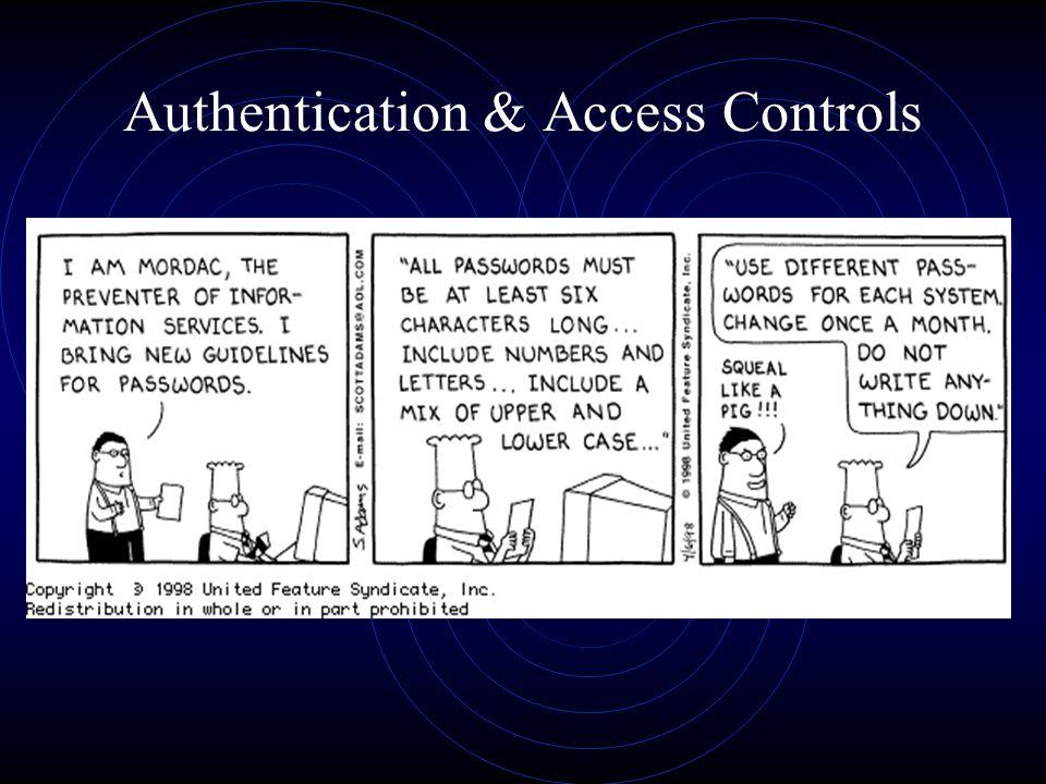 Authentication & Access Controls