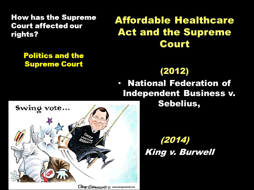 How has the Supreme Court affected our rights.
