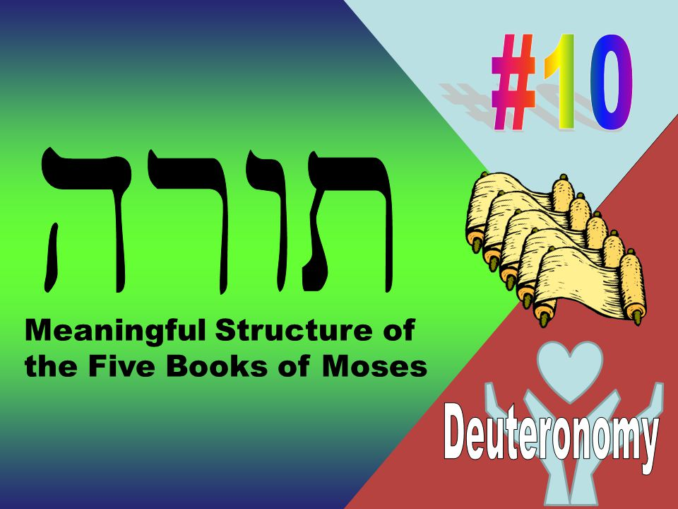 Meaningful Structure of the Five Books of Moses