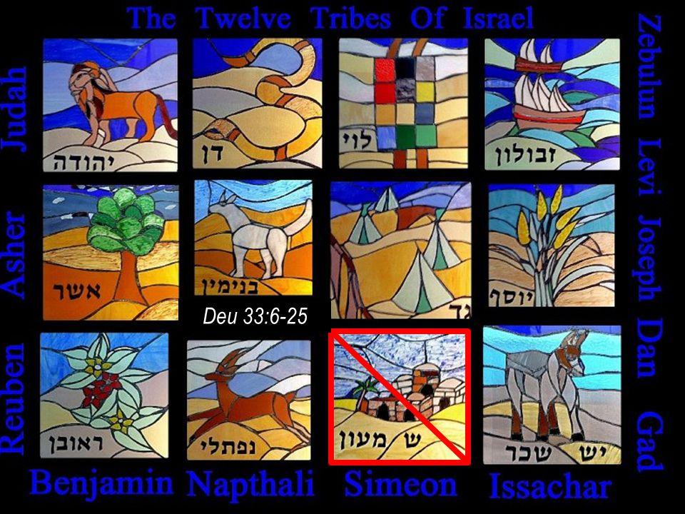 Deuteronomy 33:6-25 !d yltpn hdwhy dg rva ywl !lwbz @swy !mynb rkffy Deu 33:6-25