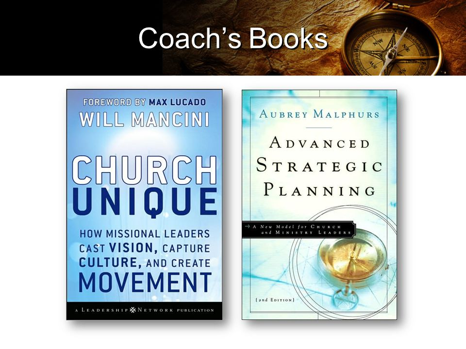 Coach's Books