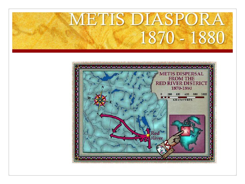 METIS DIASPORA 1870 - 1880
