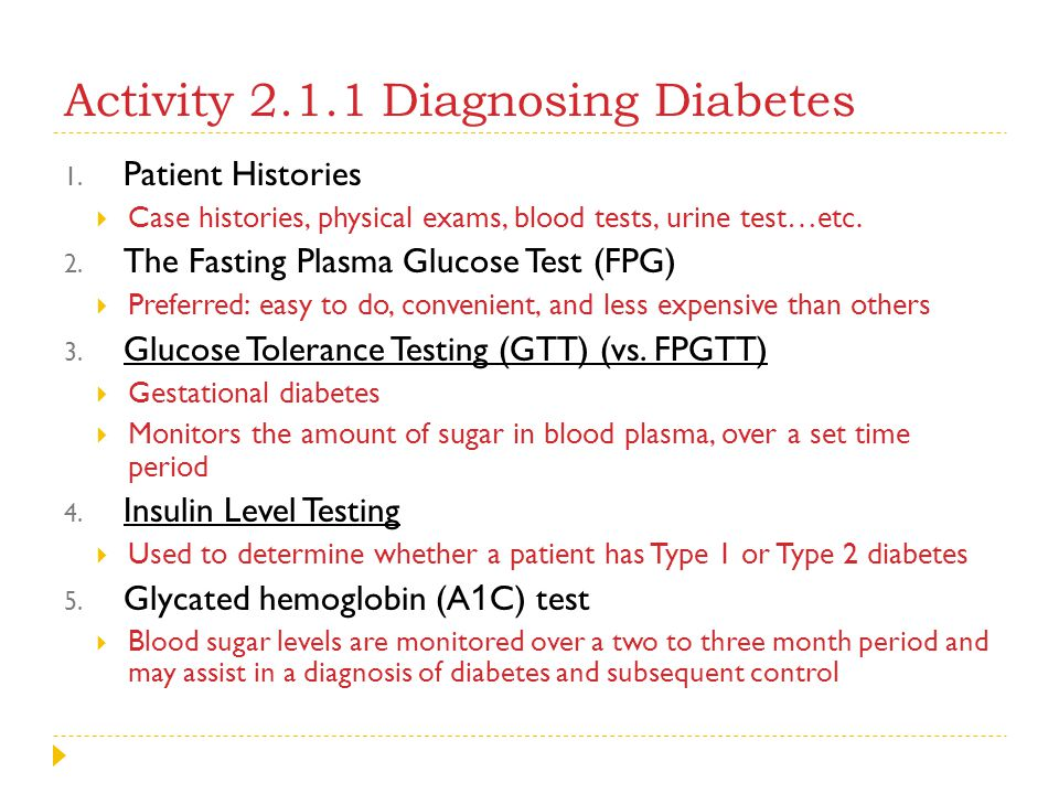 Diabetes case study questions and answers